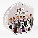 Chour&Euhk Kpop BTS Bangtan Boys 2019 Petit calendrier de bureau avec photo BTS