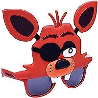 sun-staches cinque notti Freddy (Freddy Fazbear, Bonnie coniglietto, Foxy Fox, Chica) marrone Brown One Size (US Size)