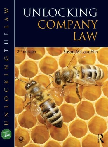 Unlocking Company Law (UNTL) by McLaughlin, Susan Published by Hodder Education (2013)