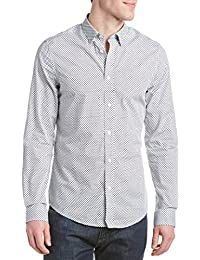 Ben Sherman Camisa casual - Cuadrados - con botones - Manga Larga - para hombre