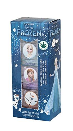 Lip Smacker Disney Reine des Neiges Lumières du Nord Cubes Glacés Set de 3 Baumes à Lèvres