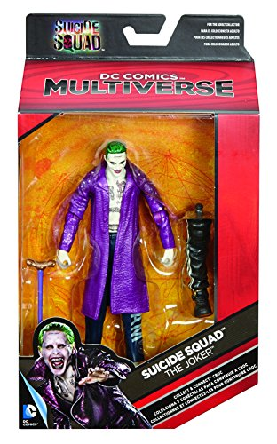 When the government releases the worst prisoners to become a task force for good anything goes Inspired by the new DC Comics movie Suicide Squad these six richly authentic 6 criminal action figures feature 18 powerful points of articulation true to m...