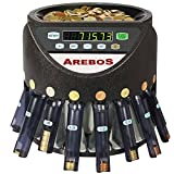 Münzzähler für Euro Münzen (Münzzähler mit Münzbehälter und Abhülsevorrichtung)