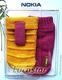 Nokia CP-221 gelb/pink Tasche Socke
