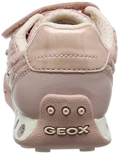 Geox Mädchen Jr New Jocker Girl B Low-Top Pink (Dk Rosec8007)