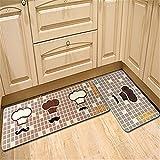 TDIT Coltello e forchetta tappetino antiscivolo Foyer piede tappeto moquette lungo domestici cucina porta Pad di tappeti per la camera da letto 7 50cmx80cm
