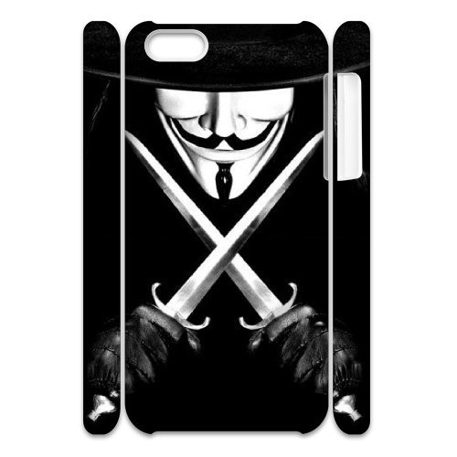 LP-LG Phone Case Of V for Vendetta For Iphone 4/4s [Pattern-6] Pattern-1