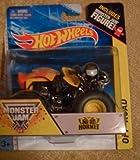Nitro Hornet Monster Jam Truck Includes Monster Jam Figure Hot Wheels Off-road 2014 #37 1:64 Scale by Monster Jam