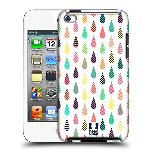 Head Case Designs Muster Tropfen Muster Harte Rueckseiten Huelle kompatibel mit Apple iPod Touch 4G 4th Gen Ipod 4 Touch Case