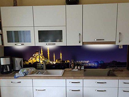 Dalinda® Küchenrückwand Küchenboard Küchenrückseite mit Design Istanbul Bosporus KR047