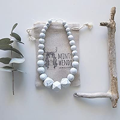 Cadeau de naissance - Collier d'allaitement, de Portage et de Dentition - Mumtaz Mahal