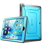 Apple iPad Mini 4 Hülle, SUPCASE Unicorn Beetle PRO Serie Schutzhülle mit eingebauter Displayschutzfolie (Blau)