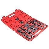 Busyall Bremskolbenrücksteller Kolbenrücksteller Bremsenrücksteller Rücksteller Werkzeug Bremsbacken-Set 21 teilig mit Koffern 12.7 x 9.8 Zoll