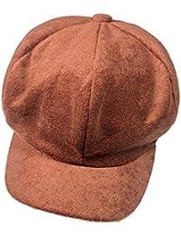 Rcool Cappello Cappelli e Cappellini Berretto Donna Uomo Unisex Inverno  Elegante  b8f812c7dd60