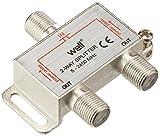 WELL SPLT-FC/2-ST-WL 2-Way Satellite Signal Splitter
