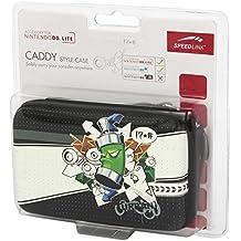 Speedlink Carry Case Tasche zur Aufbewahrung des Nintendo DSi Lite (Hartschale mit Innenfächern und Reißverschluss) Graffiti