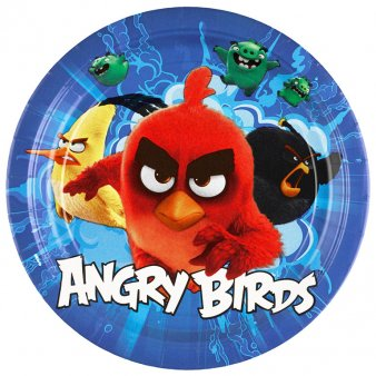 Partyset Angry Birds Movie 52-teilig, Geburtstag, Mottoparty