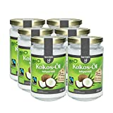 6 x Bio Kokosöl nativ 200ml.