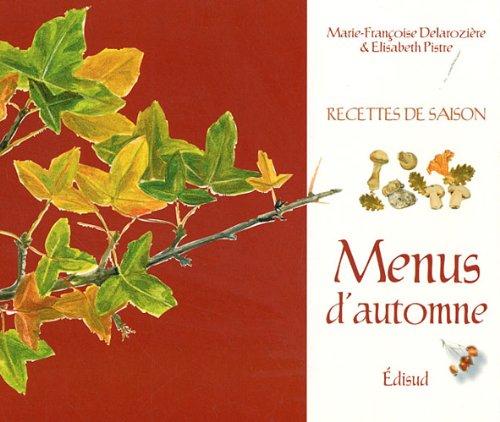Menus d'automne