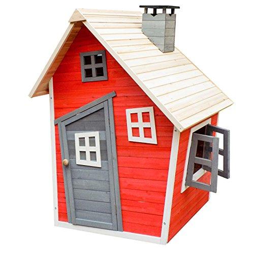 Umweltfreundliches Spielhaus aus Fichtenholz (Wiltec)