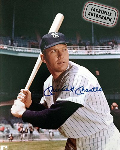 Generic Facsimile Autographed Mickey Mantle- New York Yankees - Mickey Mantle Yankees