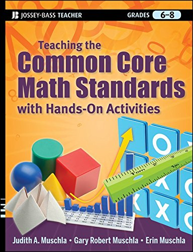 [Teaching the Common Core Math Standards with Hands-On Activities, Grades 6-8] (By: Judith A. Muschla) [published: April, 2012]