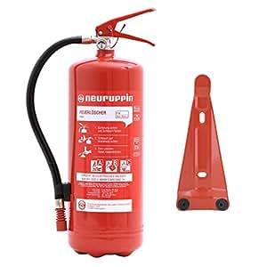 Neuruppin Feuerlöscher 6kg ABC Pulverlöscher PG 6 Euro-S inkl. ANDRIS® Prüfnachweis