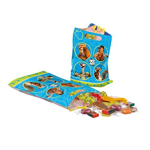 Susy Card 40000312 - Partytüten, Ice Age, 6 Stück (6 Ice Age)