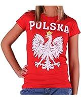 Quaint Point Polska Polen Trikot Damen T-Shirt KP6W