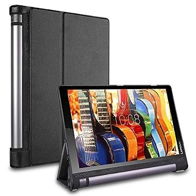 """Bestdeal® Hohe Qualität Prämie Ultra Schlank Leicht Smart Cover Tasche Stehe Hülle für Lenovo Yoga Tab 3 YT3-X50F 10.1"""" Tablet PC + Displayschutzfolie und Stylus Stift"""