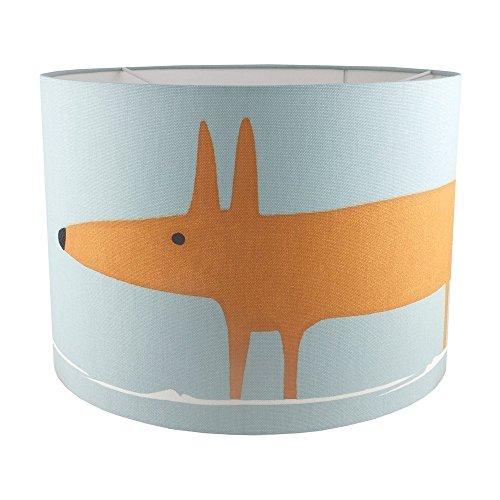 handmade-drum-lampshade-in-blue-mr-fox-scion-fabric