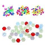 MagiDeal 134 Stück Fahrrad Speichen Perlen für Kinderfahrrad Dekoration Zubehör
