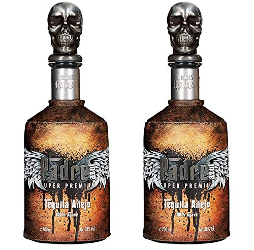 Padre Azul Tequila aus Mexico 2er Sparpack Padre Azul Tequila Anejo 38% vol (2 x 0,7 Liter)
