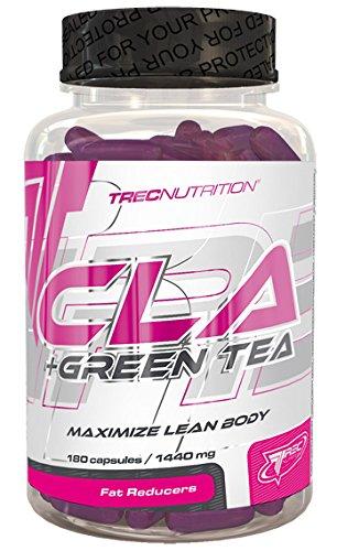 Trec Nutrition Cla + Green Tea Fettburner Fettverbrenner Fettreduktion Sport Bodybuilding 180 Kapseln