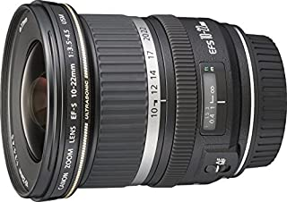 Canon EF-S 10-22mm f/3.5-4.5 USM - Objetivo para Canon (Distancia Focal 10-22mm, Apertura f/3.5-29, Zoom óptico 2.2X,diámetro: 77mm) Negro (B00065GZL2) | Amazon price tracker / tracking, Amazon price history charts, Amazon price watches, Amazon price drop alerts