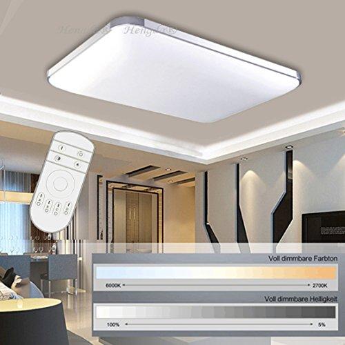 ▷ Hengda® 48W LED Deckenleuchte Deckenlampe Wohnzimmer bad ...