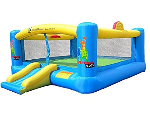 Hoops-N-Hops - Kid's Inflatable Bounce