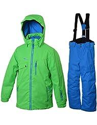 Central Project niños traje de esquí Giosue, verde, 140, 223,265
