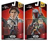 Disney Infinity Star Wars: Han Solo + Boba Fett - Action Figure Set NEW