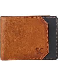 Styler King Men Tan Artificial Leather Wallet(3 Card Slots)