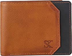 Styler King Men Tan Artificial Leather Wallet��(3 Card Slots)