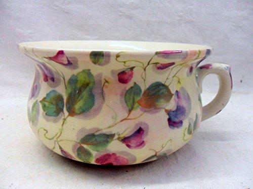 décoratifs Violet Motif pois de senteur Pot de chambre Pot de fleurs