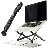 tronature Universal Laptop Ständer höhen-verstellbar - Faltbarer Laptop Stand für 13, 15, 17 Zoll - Laptopständer für Apple Macbook, Notebook - Laptop Halterung, Notebookständer