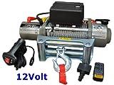 Elektrische Marken-Seilwinde 12Volt 12000 lb / 5440 kg / Modell WF12 mit Seilgeschw. in Highspeed / 12V