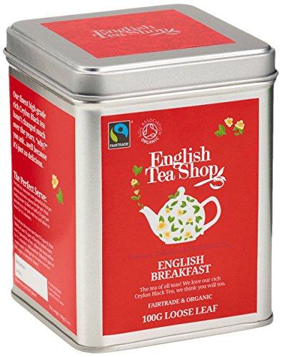 English Tea Shop – English Breakfast, BIO Fairtrade, Loser Tee, 100g Dose