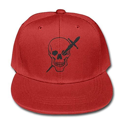 Children's Skull Head Sword Cotton Lightweight Breathable Baseball Cap Hat Snapback Trucker Hat Basecap Snapback Outdoor Baseball Kappe Plain Cake Box