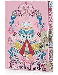 Accessorize Femme Journal intime motif forêt folk