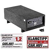 BLAM CR 20 Relax Auto Subwoofer mit Verstärker in Bassreflex-Gehäuse 20cm, 8