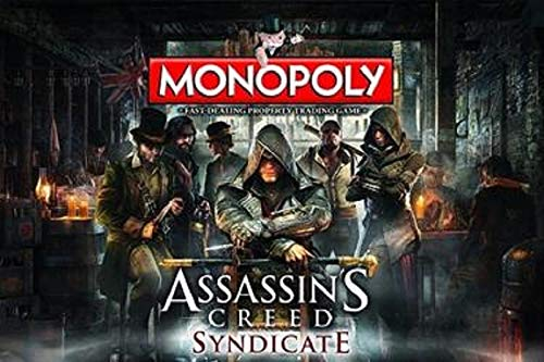 Winning Moves Assassins Creed Syndicate Monopoly - Assassins Syndicate Creed Monopoly