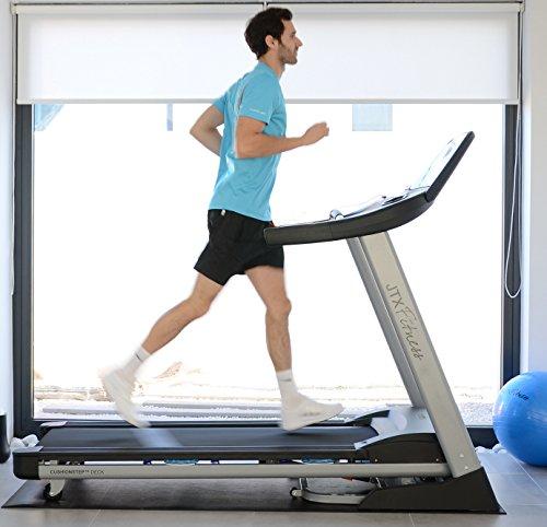 51HhcbIrgNL - JTX Sprint-7: High Performance 20KPH Home Treadmill with Large Shock Absorbing Running Deck